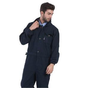 964a6a9c882 Details about Mens Overalls Coveralls Denim Boiler suit Mechanic Welder  Uniform Workwear M-4XL