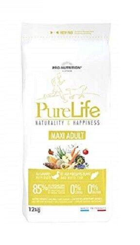 12kg proNutrition Flatazor pure Life Cane Maxi Adult cibo per cani