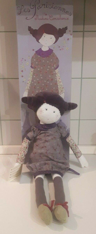 Moulin rojoy les Parisiennes soft doll bambola - Madame Constance ULTRA RARE