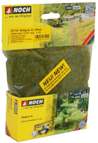 NOCH 07110 Wildgras XL Wiese 12 mm 0//H0