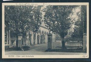 Rationnel 34946) Ak Eutin Fahr-et Reitschule 1933 + Bahnpost Berlin-kiel Z.63-afficher Le Titre D'origine Petit Profit