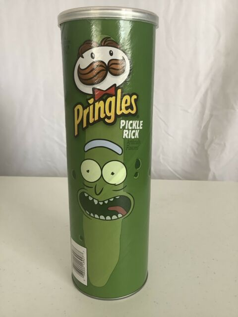 Pickle Rick Pringles Rick And Morty Special Edition Rare Limited 1x