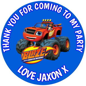 BLAZE-AND-THE-MONSTER-MACHINES-24-GLOSS-PERSONALISED-PARTY-BAG-STICKERS