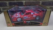 Burago Gold Collection 1:18 scale die-cast Ferari F40 1987 Rojo