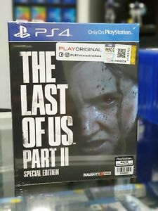 PS4-The-Last-of-Us-Part-II-2-Special-Edition-Steelbook-Eng-Asia-NEW-SEALED