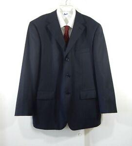 POLOARISTOCRACY-jacket-blazer-sport-coat-100-wool-two-button-business-42R