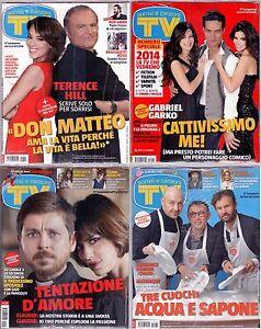 TV-Sorrisi-e-Canzoni-Lotto-nr-1-2-3-4-Anno-2014-Blisterati-da-abbonamento