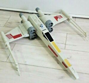Star Wars Hero Series Large X-Wing Fighter Hasbro Skywalker incomplete damaged