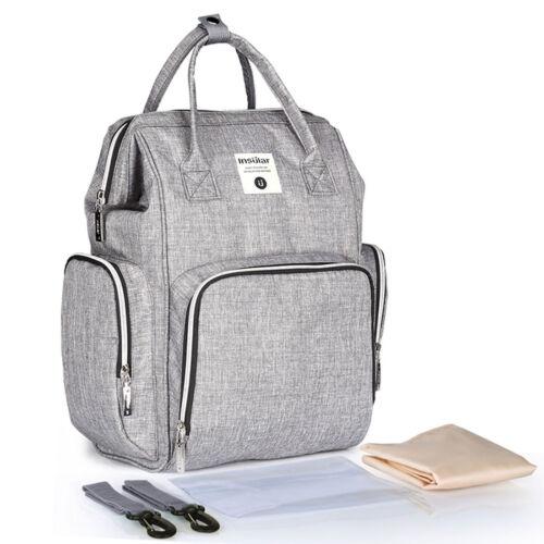 Insular Waterproof Mummy Bag Maternity Nappy Baby Bag Large Capacity Travel Bag