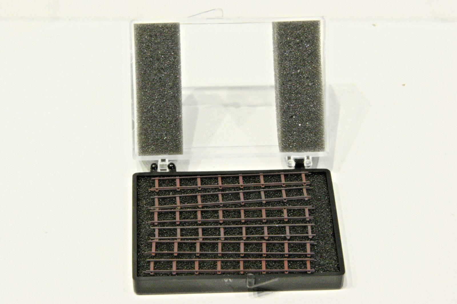 Railino 2901, 6 finiti Assemblato appena binari, traccia NF, Nuovo, Confezione Originale