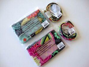 NWT-Vera-Bradley-Zip-ID-Case-amp-Lanyard-Badge-Holder-Choose-Your-Pattern