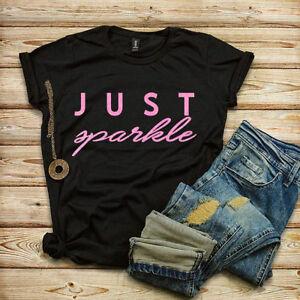 JUST SPARKLE T-SHIRT Glitter T-shirt