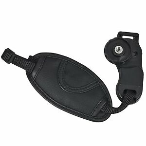 Camera-Hand-Wrist-Grip-Strap-for-SLR-DSLR-Canon-Nikon-PEOS-Sony-Pentax-black