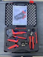 Rennsteig Solar Crimp Kit Set 624 105 Used