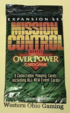 Booster Packs 1 4 Marvel OverPower PowerSurge Mission Control 1 Monument