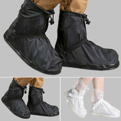 Reusable Rain snow Shoe Covers Waterproof shoes Overshoes Anti-slip Boot Gear US
