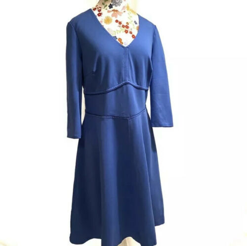 Boden Jersey Fit and Flare Dress