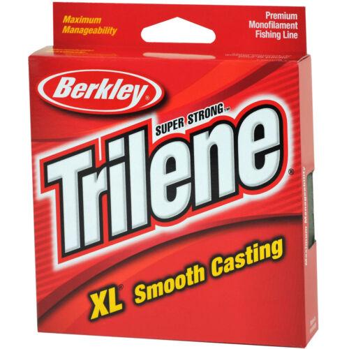 Berkley Trilene XL Smooth Casting Fishing Line -Fluorescent Clear//Blue 110 yds