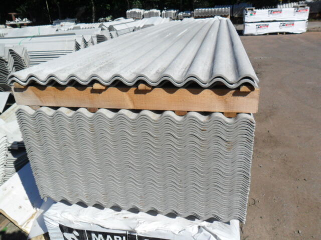3 Inch Corrugated Fibre Cement Roofing Sheets Rooflights Ridges Fixings Ect