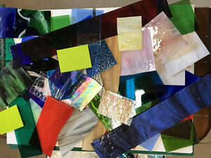 Stained-Glass-10-Pounds-PREMIUM-SCRAP-FOR-Mosaic-Art-Glass-Art-Mosaic-Tile