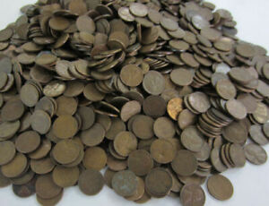 UNSEARCHED-1000-pc-Bag-of-Lincoln-Wheat-amp-Memorial-Cents-Aveage-Circ-Ships-Free