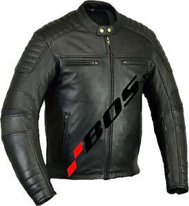 Veste-En-Cuir-Moto-Homme-Vintage-Cafe-Racer-Moto-Leather-Jacket-Motard-Blouson-L