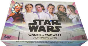 STAR WARS GALAXY HOBBY BOX TOPPS 2018 Sealed Han Solo Leia Luke Skywalker