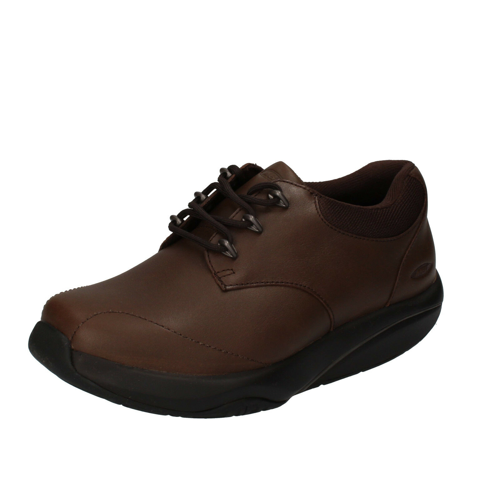 Scarpe donna MBT 35 EU scarpe da ginnastica marrone pelle tessuto dynamic AB448-B