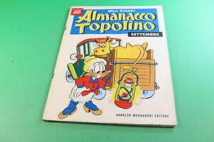 ALMANACCO-TOPOLINO-DISNEY-ED-MONDADORI-1957-N-9-FS-086
