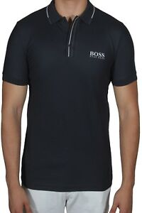 6d5766e47 Hugo BOSS Paule Pro 1 Men's Polo Shirt Short Sleeve Slim Fit ...