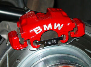 BMW Brake Caliper Calliper Decals X X - Bmw brake caliper decals