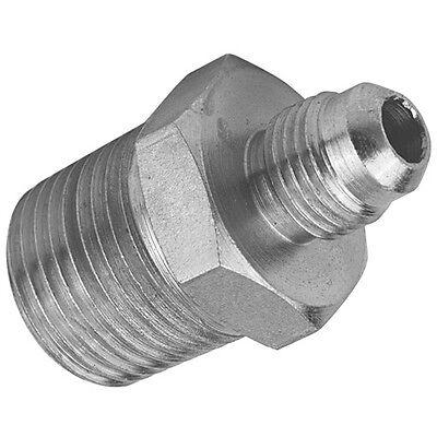 Hydraulic Steel NPT x JIC Male Adaptor Fitting Union Connector - NPTF Air Fuel