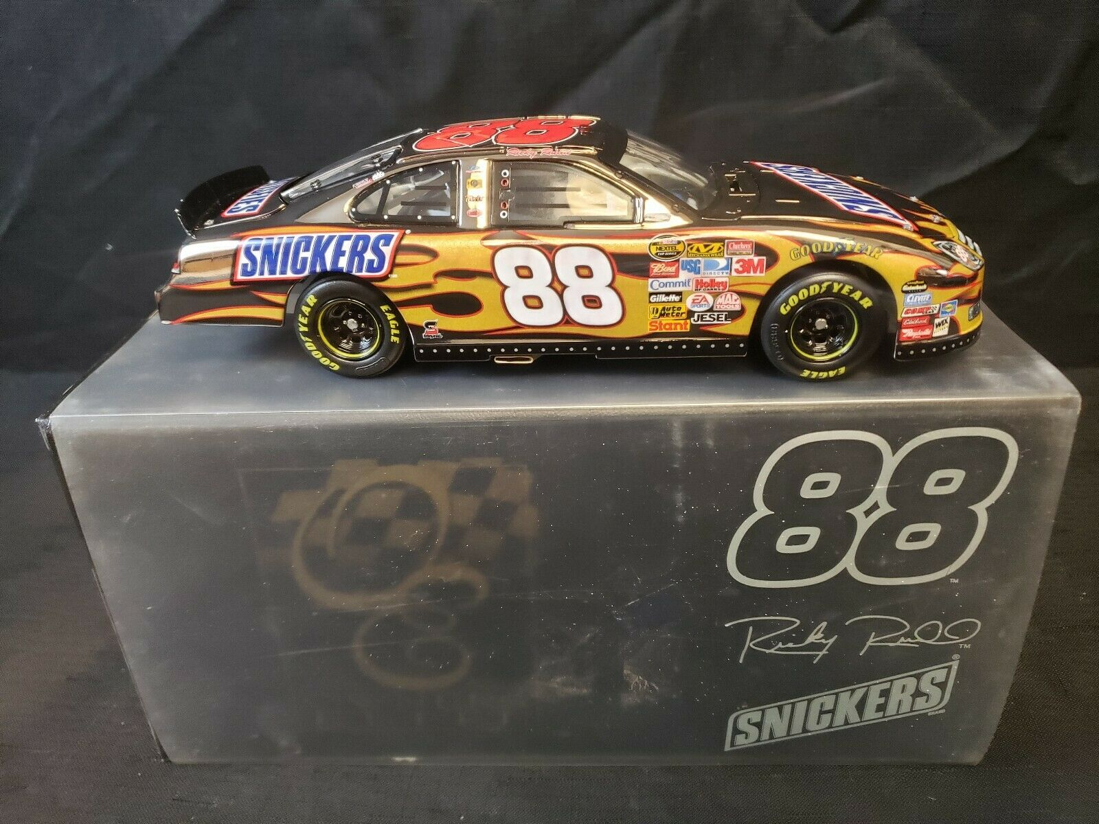 Ricky Rudd 2007 Owners Elite 1 24 White gold Ford Fusion Snickers  88 1 of 100