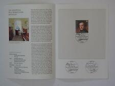 (09j9) Bund Erinnerungsblatt 2009 mit ESST Mi.Nr. 2720 Mendelssohn Bartholdy