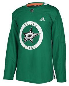 online retailer 4b64d 64849 Details about Dallas Stars Adidas NHL Men's Climalite Authentic Practice  Jersey
