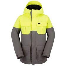 New 2017 Volcom Mens Alternate Snowboard Jacket Small Grey