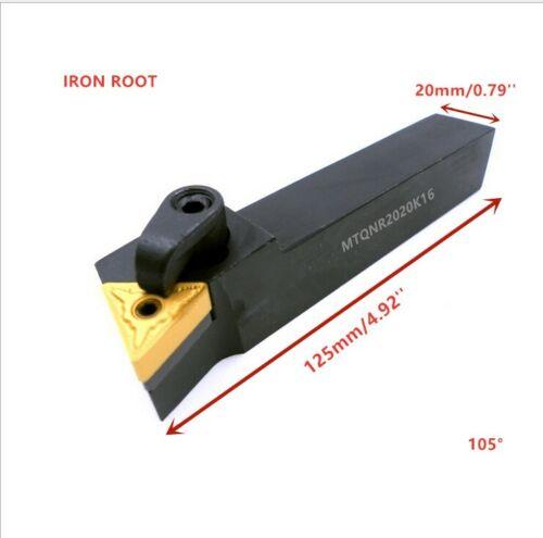 1P MTQNR2020K16 CNC lathe External Turning Toolholder For TNMG1604 insert