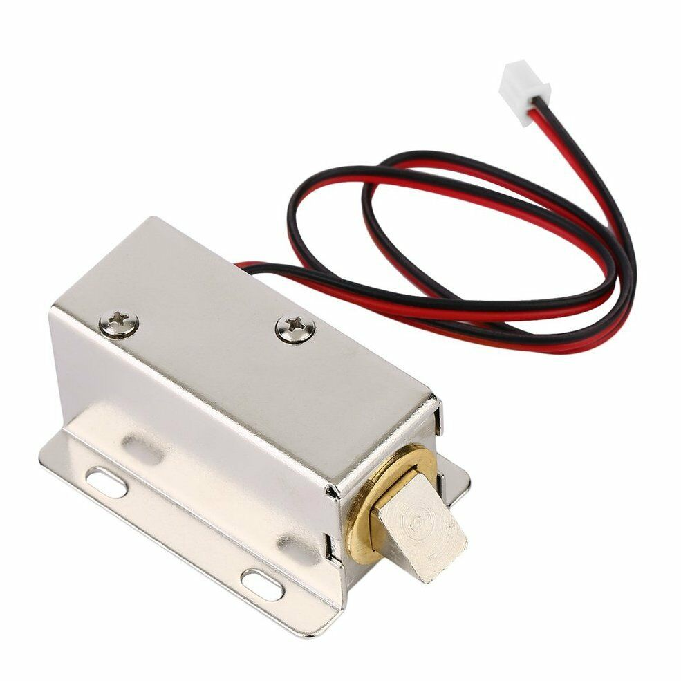 DC 220V 6mm 100g Wired Open Frame Pull Solenoid Electromagnet Actuator 1PC