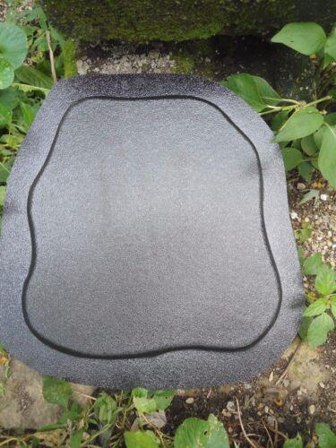 Plain plaque mold plaster concrete mould decorate yourself!