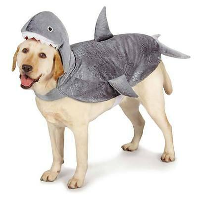 Casual Canine Shark Halloween Dog Costume Plush Lifelike Jaws Scary All Sizes
