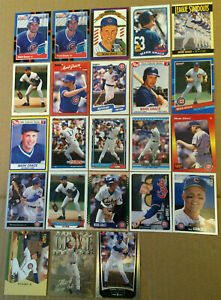 Mark-Grace-LOT-of-41-Rookies-insert-base-cards-NM-1988-1999-Chicago-Cubs-RC-mlb
