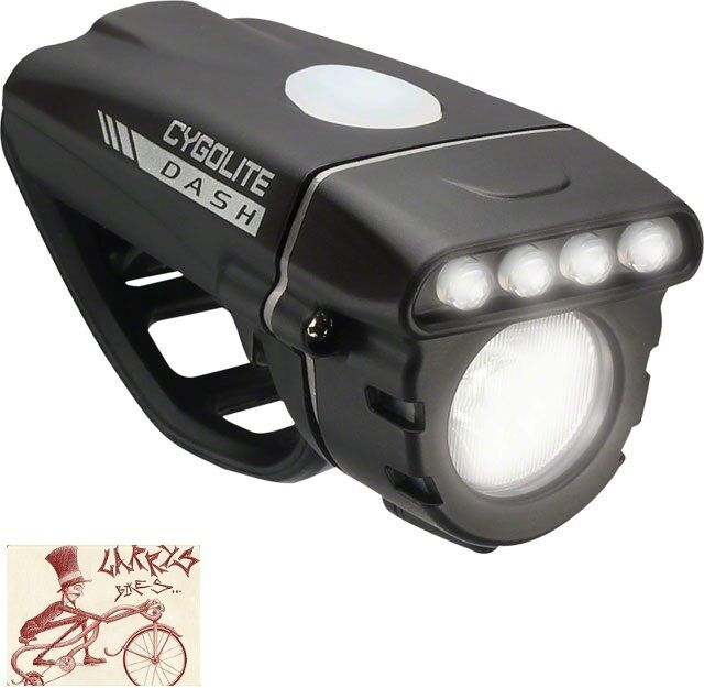 CYGOLITE DASH 460 RECHARGEABLE BICYCLE  HEADLIGHT  sell like hot cakes