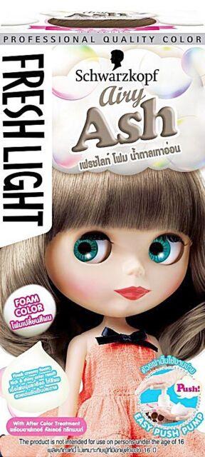 Schwarzkopf Hair Color Fresh Light Foam Type Airy Ash Ebay