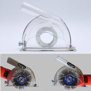 Coupe-Dust-Shroud-Grinding-Dust-Cover-pour-meuleuse-d-039-angle-amp-3-034-4-034-5-034-lames-de-scie