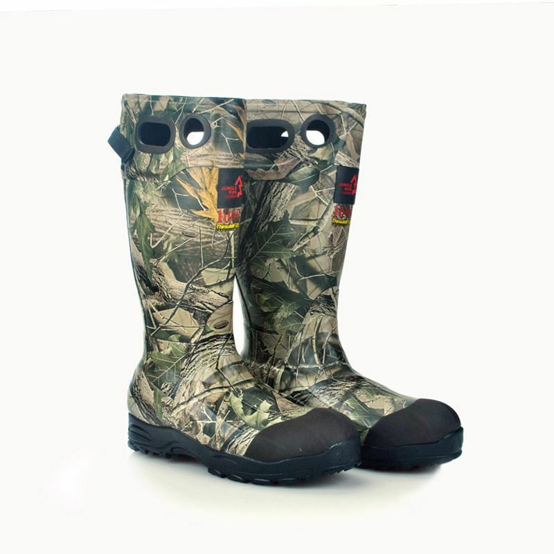 Hunting Stiefel Fishing schuhe Non-slip Rubber Camouflage Waterproof Big Yards 40-46