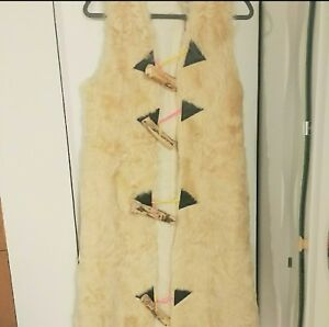 Jacket Fur Kvinders Long Sheep Vintage Lamb Tibet Overcoat Fashion Vest BxwaXPqYw