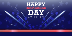 Happy independence day America 4th july celebration memorial day patrion