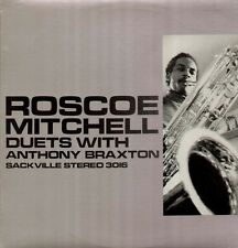 Mitchell Roscoe, Duets with Anthony Braxton, Orig. Sackville Free Jazz LP