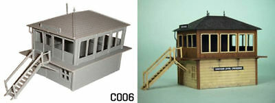 00 Gauge Self-Conscious Dapol C006 Lineside Signal Box New Plastic Kit Special Buy