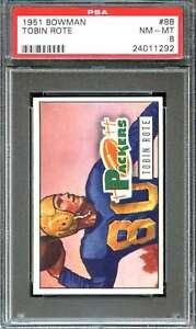 1951-BOWMAN-88-TOBIN-ROTE-PSA-8-PACKERS-ADT1542